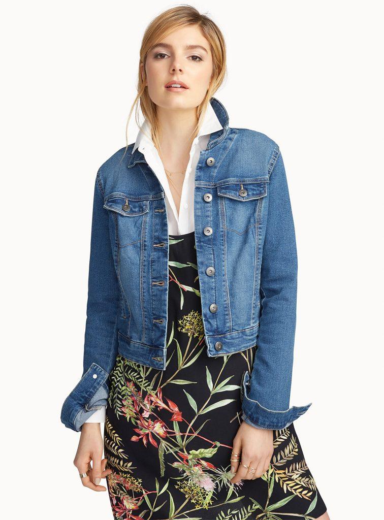 veste en jeans, look denim, veste en denim, vero moda