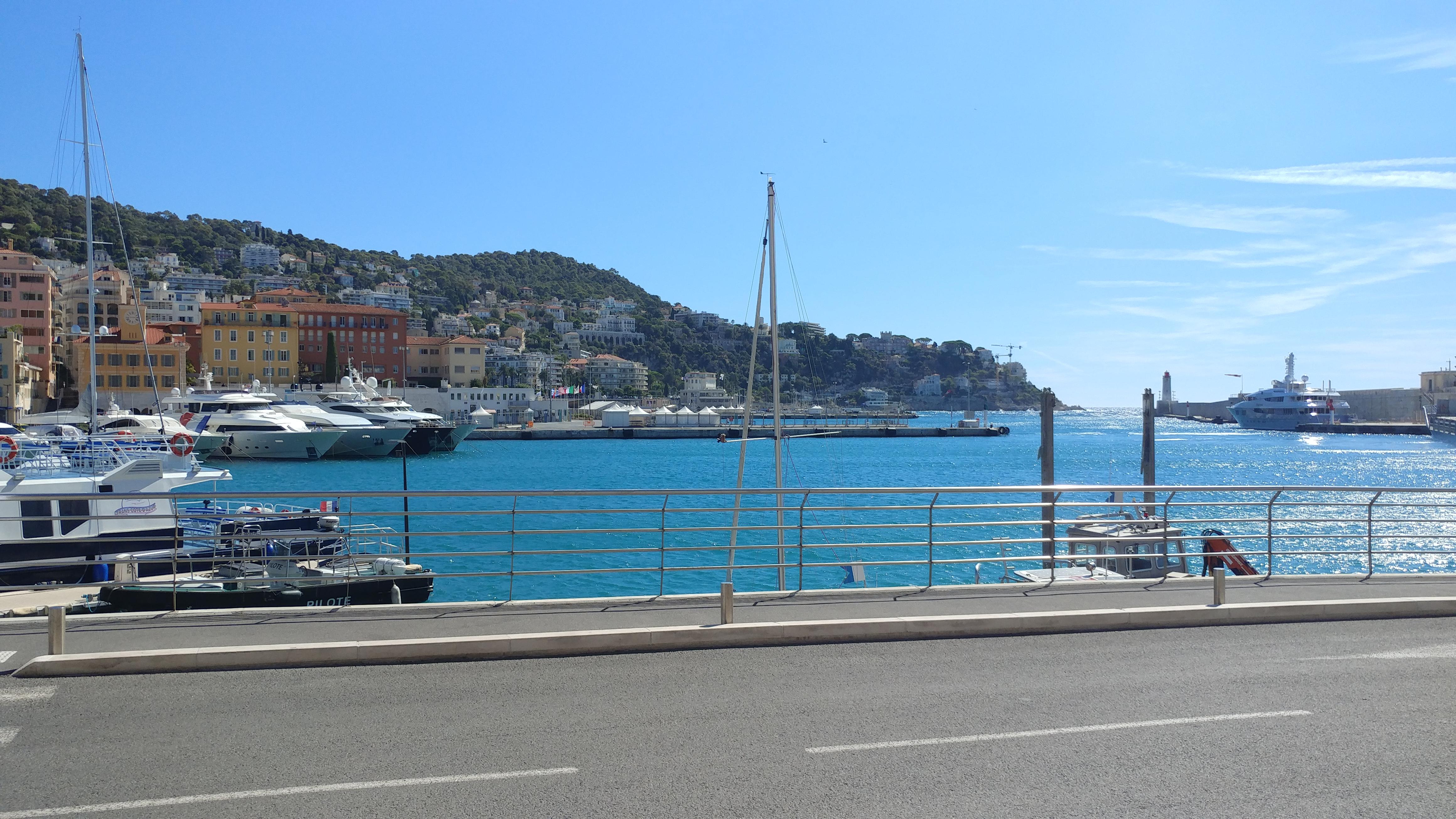 Port Nice Europe voyage destination paysage France
