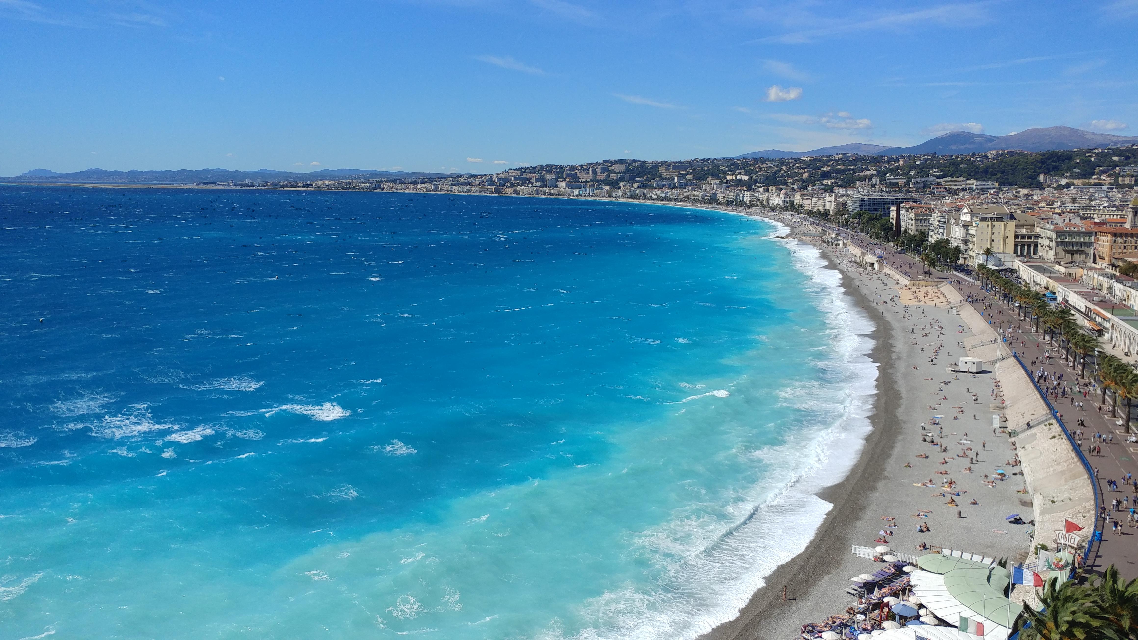 Promenade des Anglais Nice France Europe voyage destination paysage