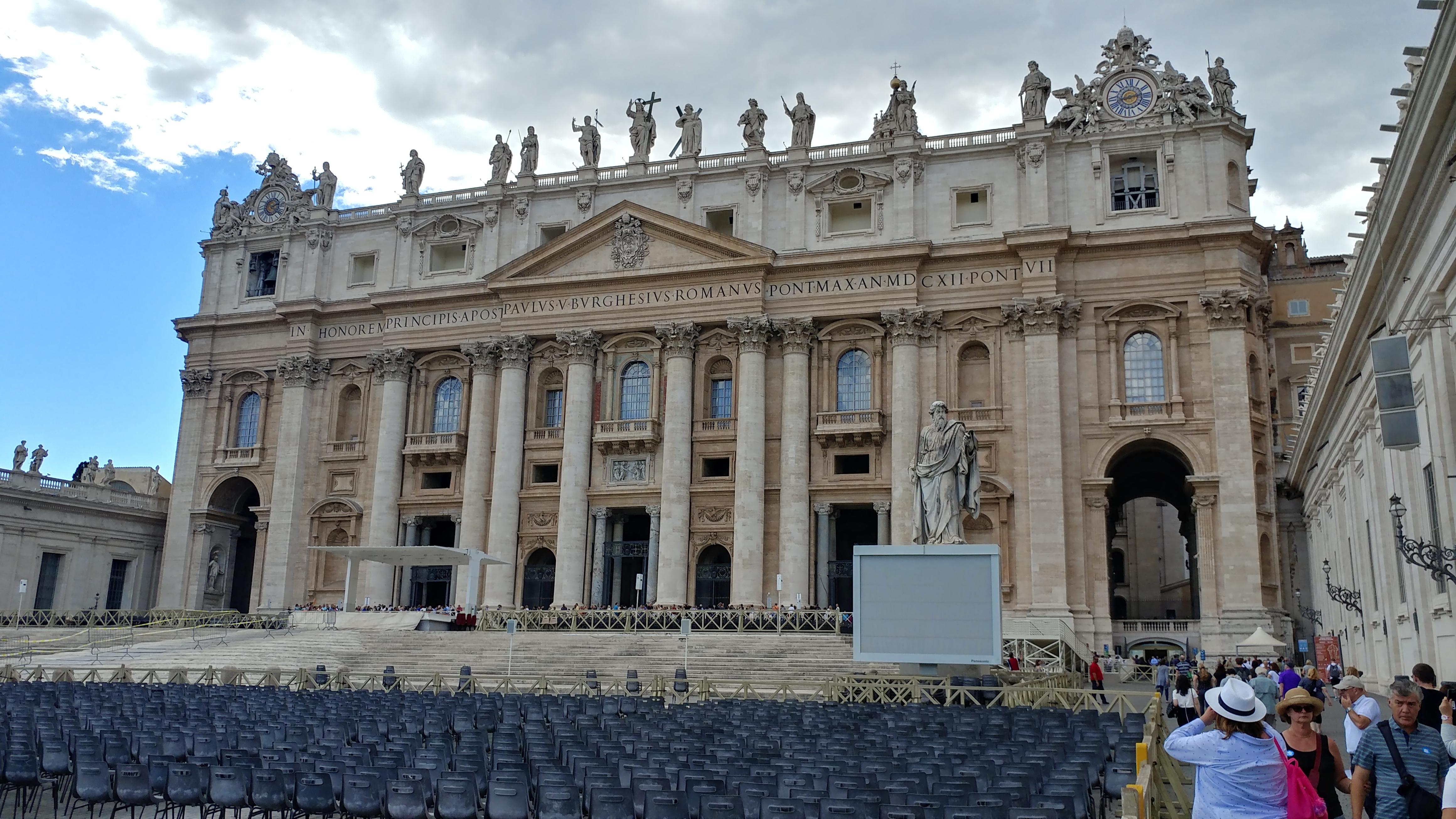 Europe Rome Italie voyage destination paysage Colisée Basilique Saint-Pierre Vatican