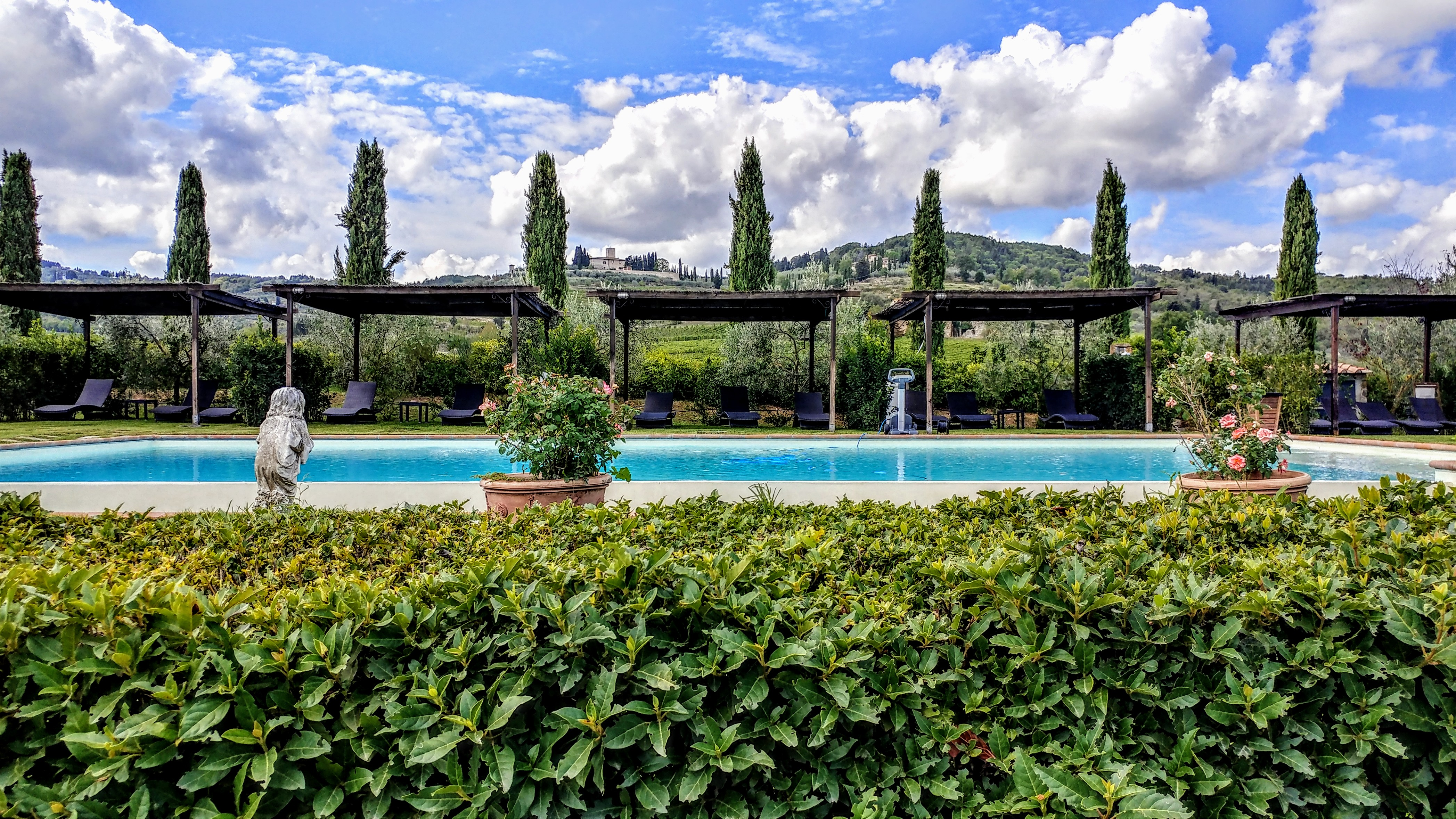 Italie Florence Europe voyage destination paysage Chianti vignoble vin