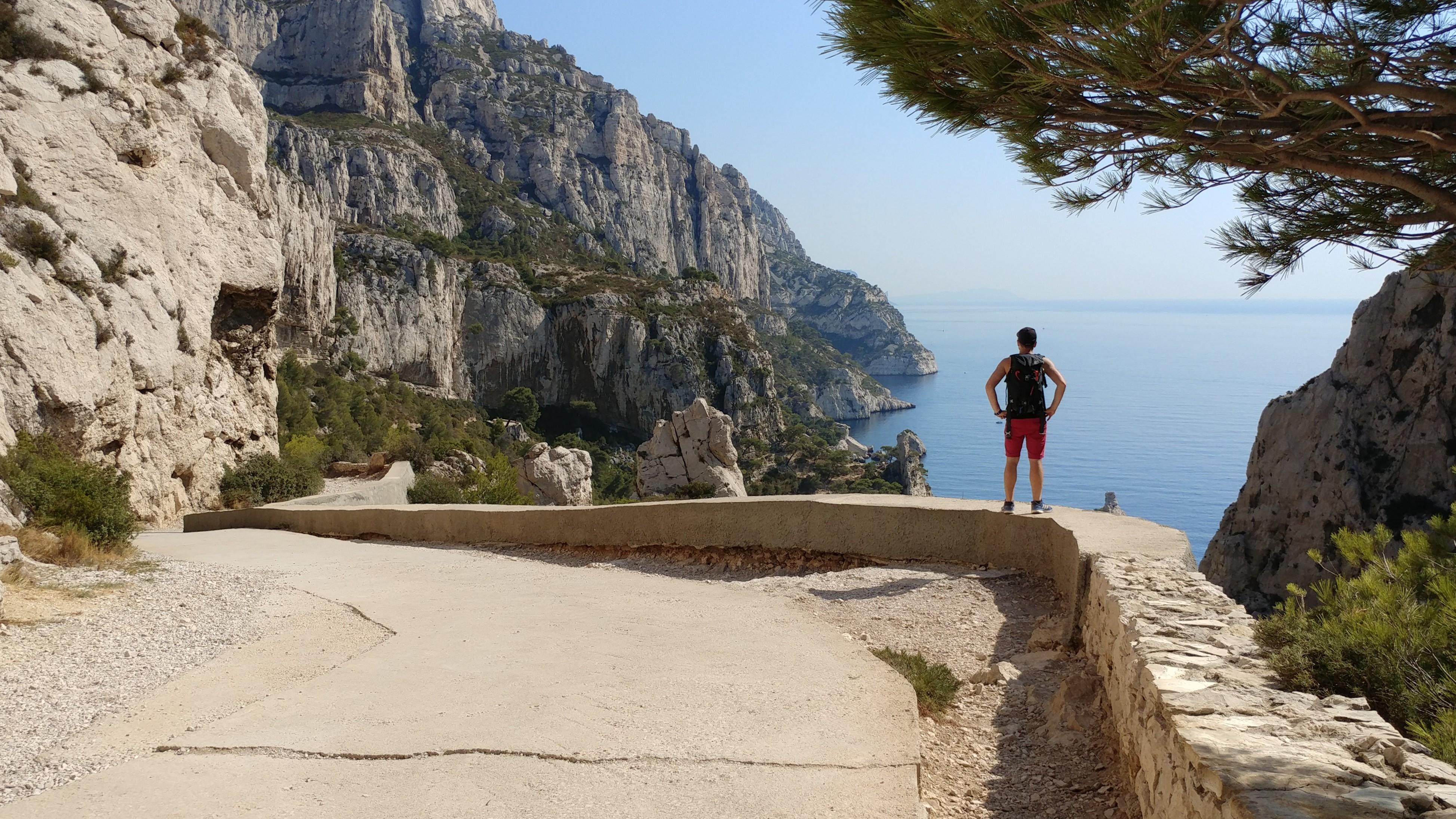 Calanques Marseille paysage mer méditerranée Europe France voyage destination