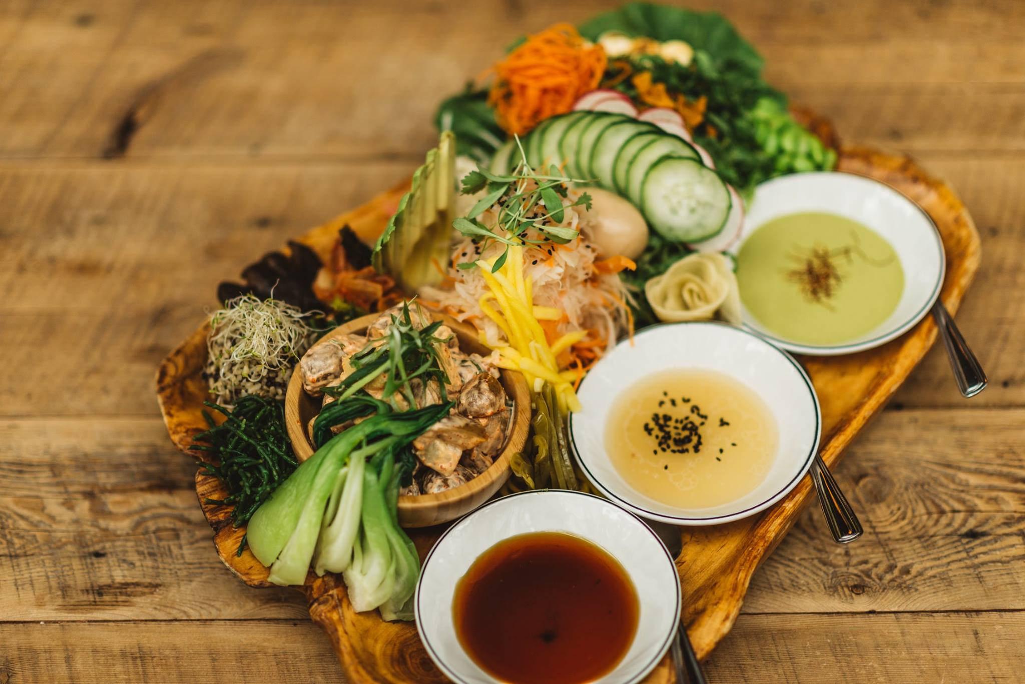 Kampai Garden plats nourriture restaurant bouffe Montréal