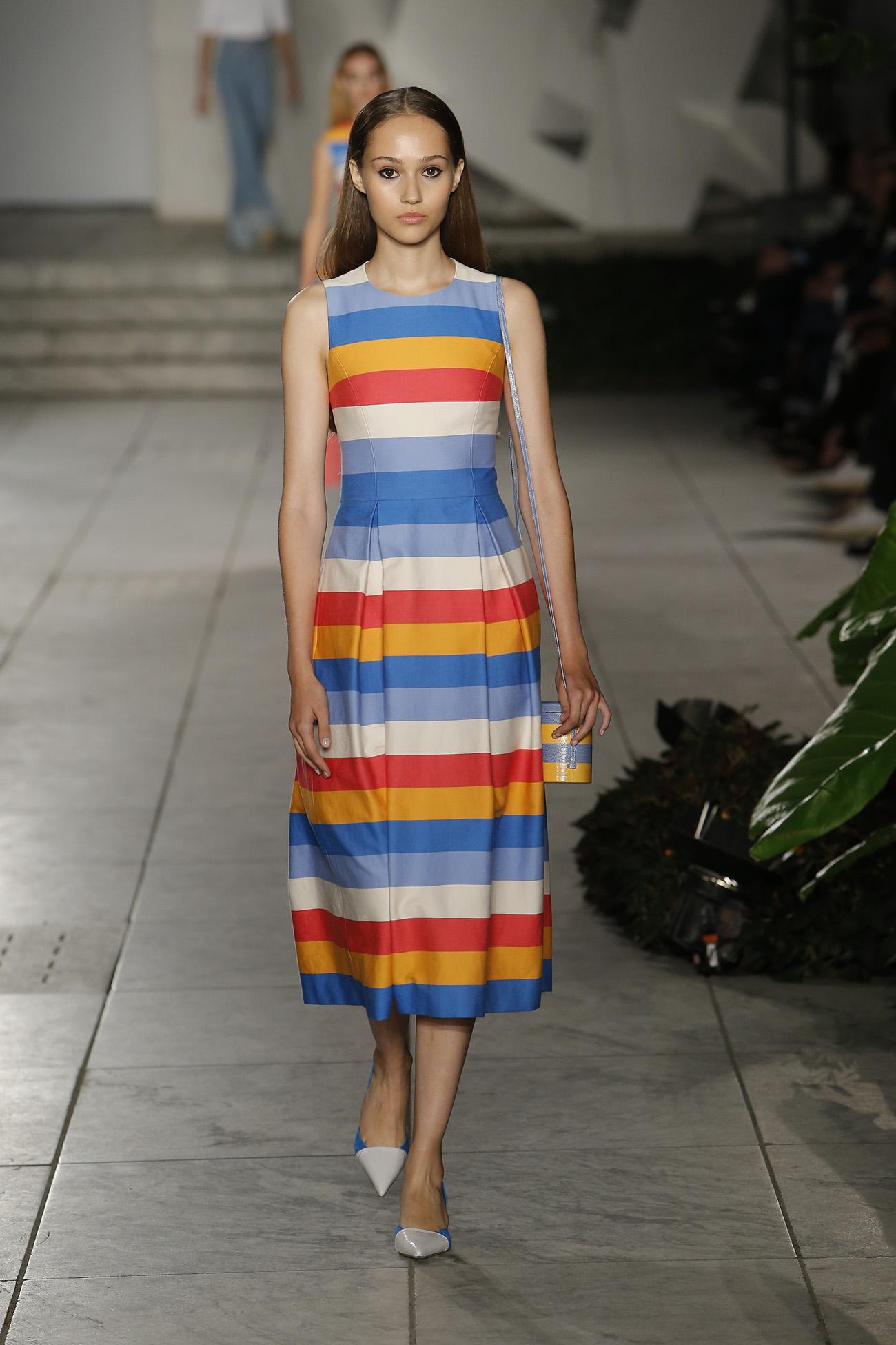 mode fashion vêtement rayures printemps