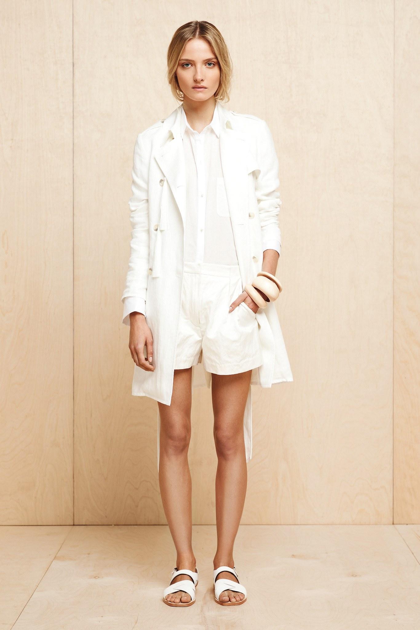 short vêtement mode Fashion show printemps