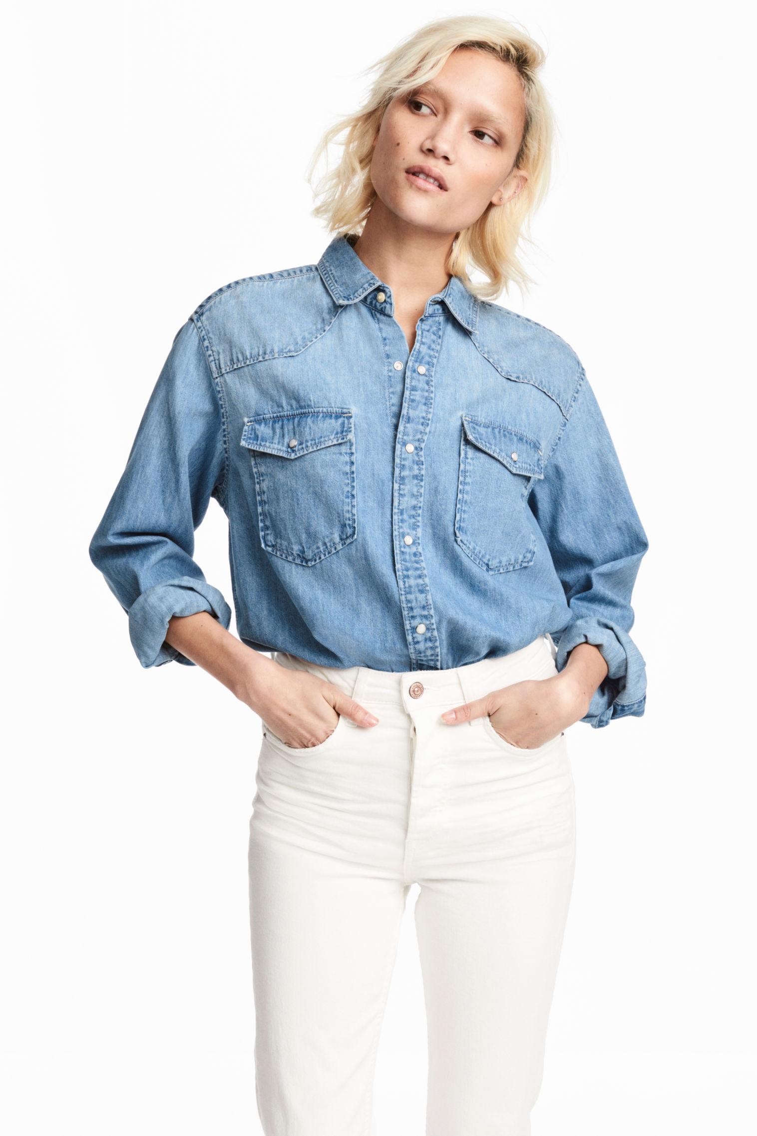 jeans bureau look hm