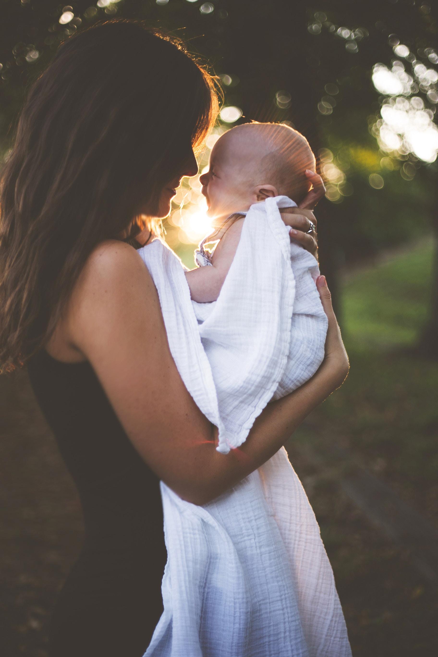 maman et enfant