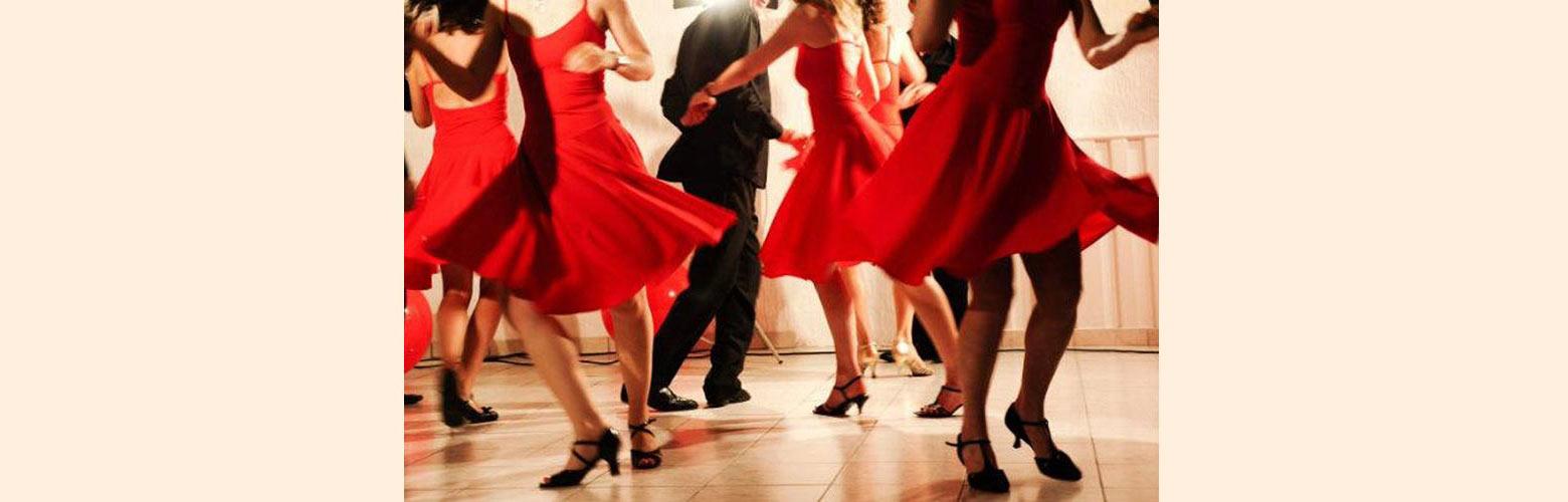 danse dans le métro
