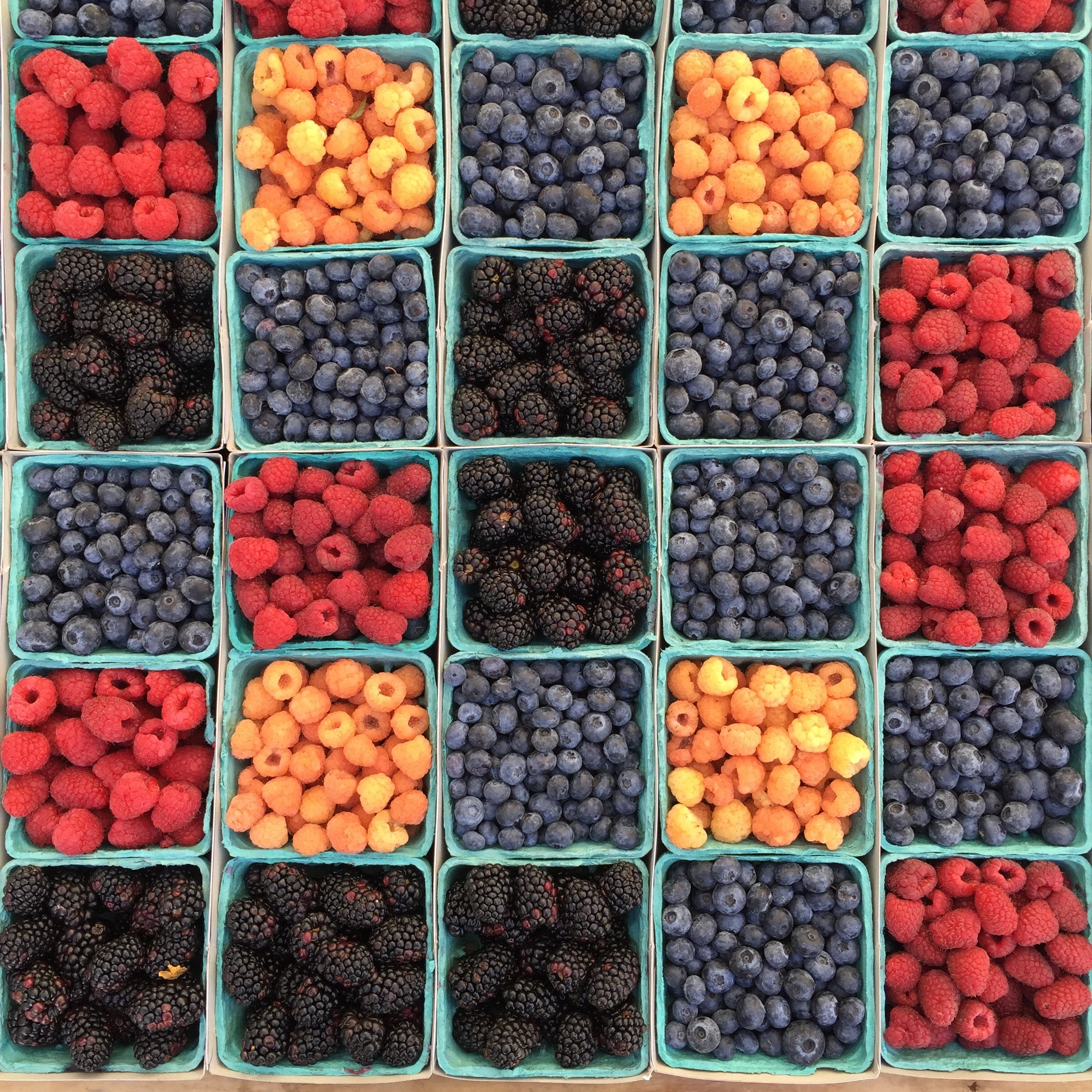 fruits variés