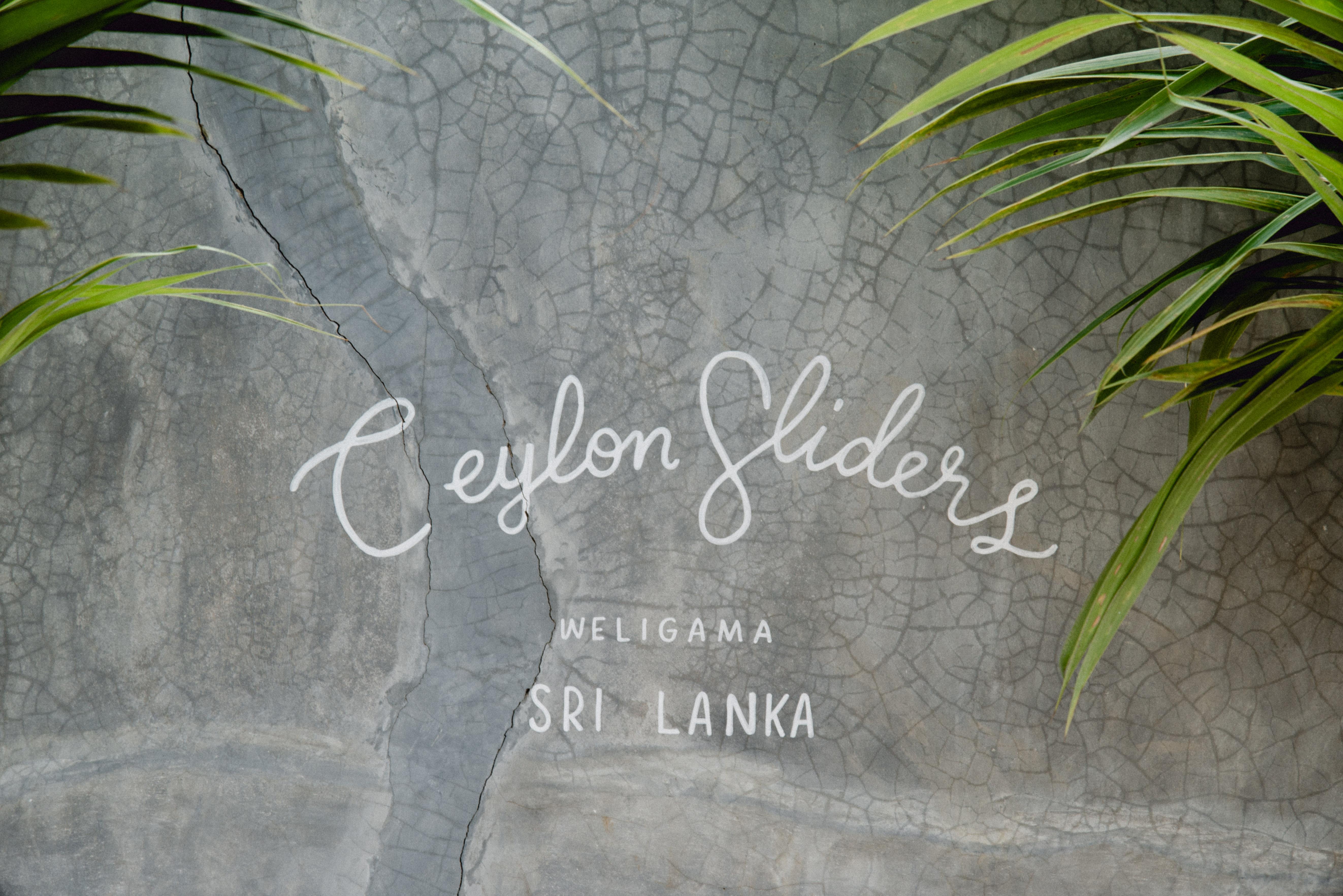 café Ceylon sliders,