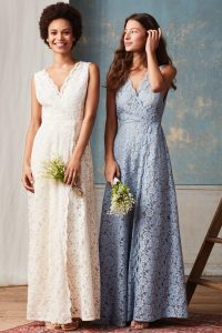 H&M section mariage robe femme