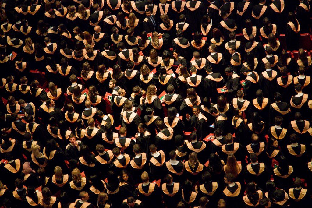 Graduation, remise de diplômes