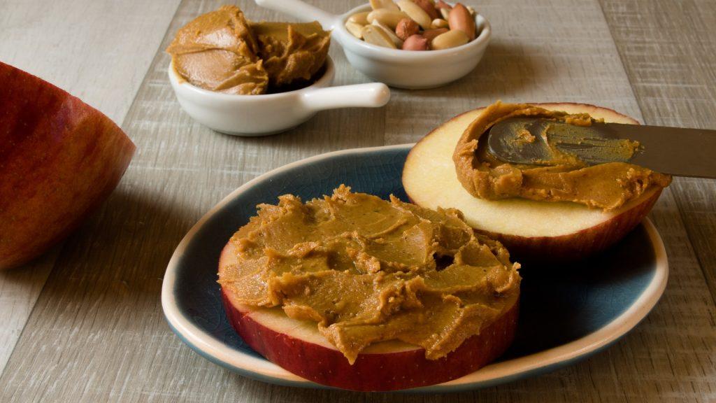 Pomme beurre de peanut