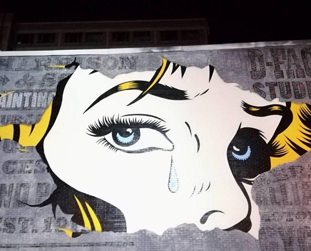 Grafiti, boulevard saint-laurent