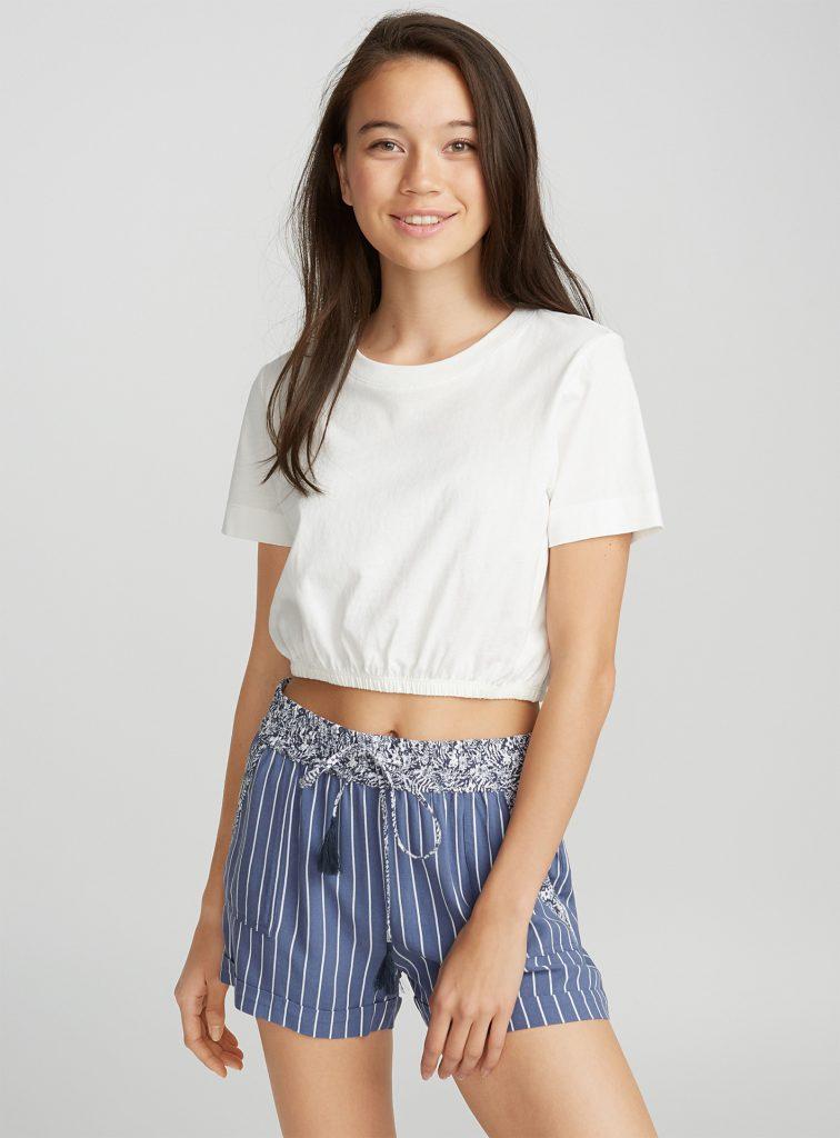 short, magasinage, été, mannequin, simons, tendance, mode