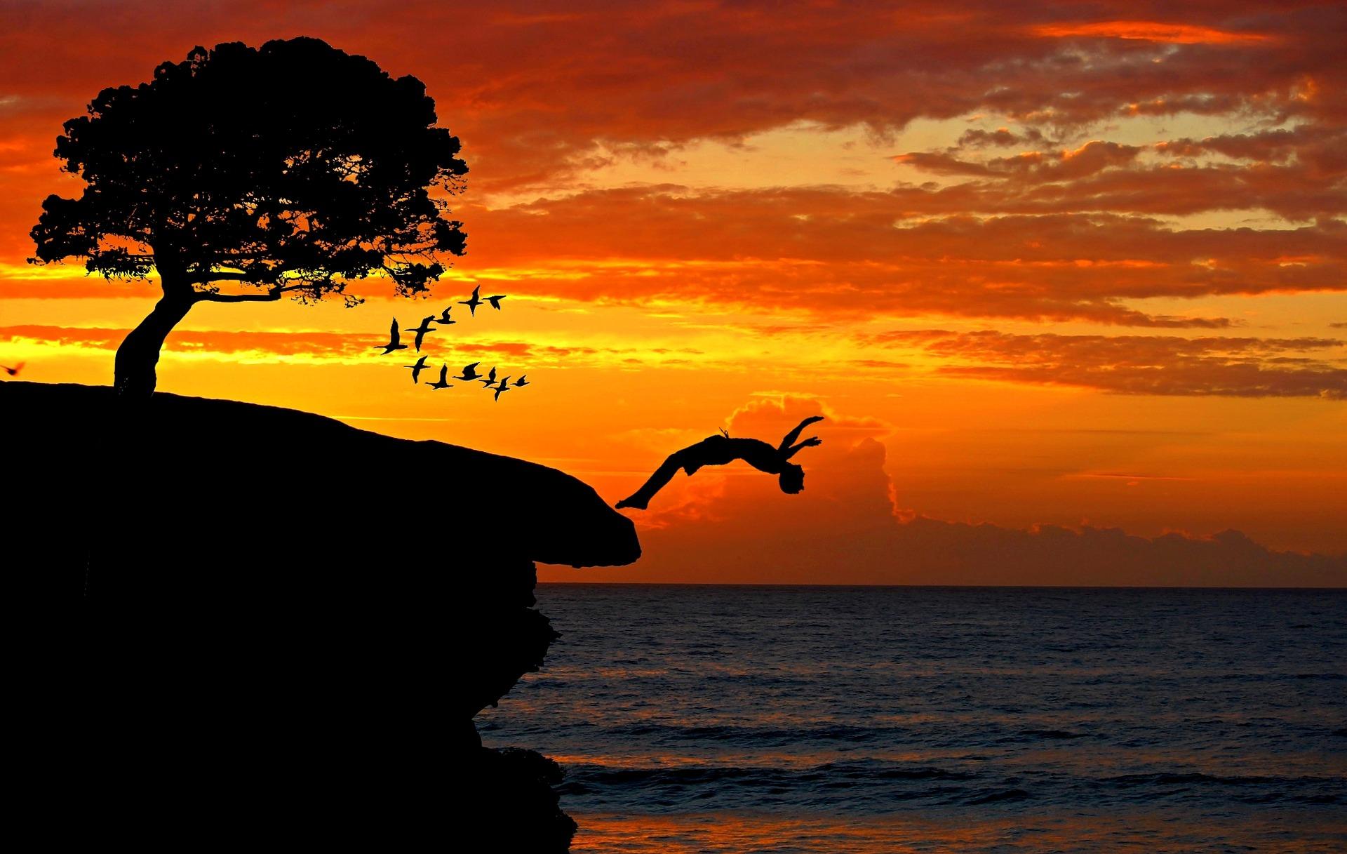 saut à la mer