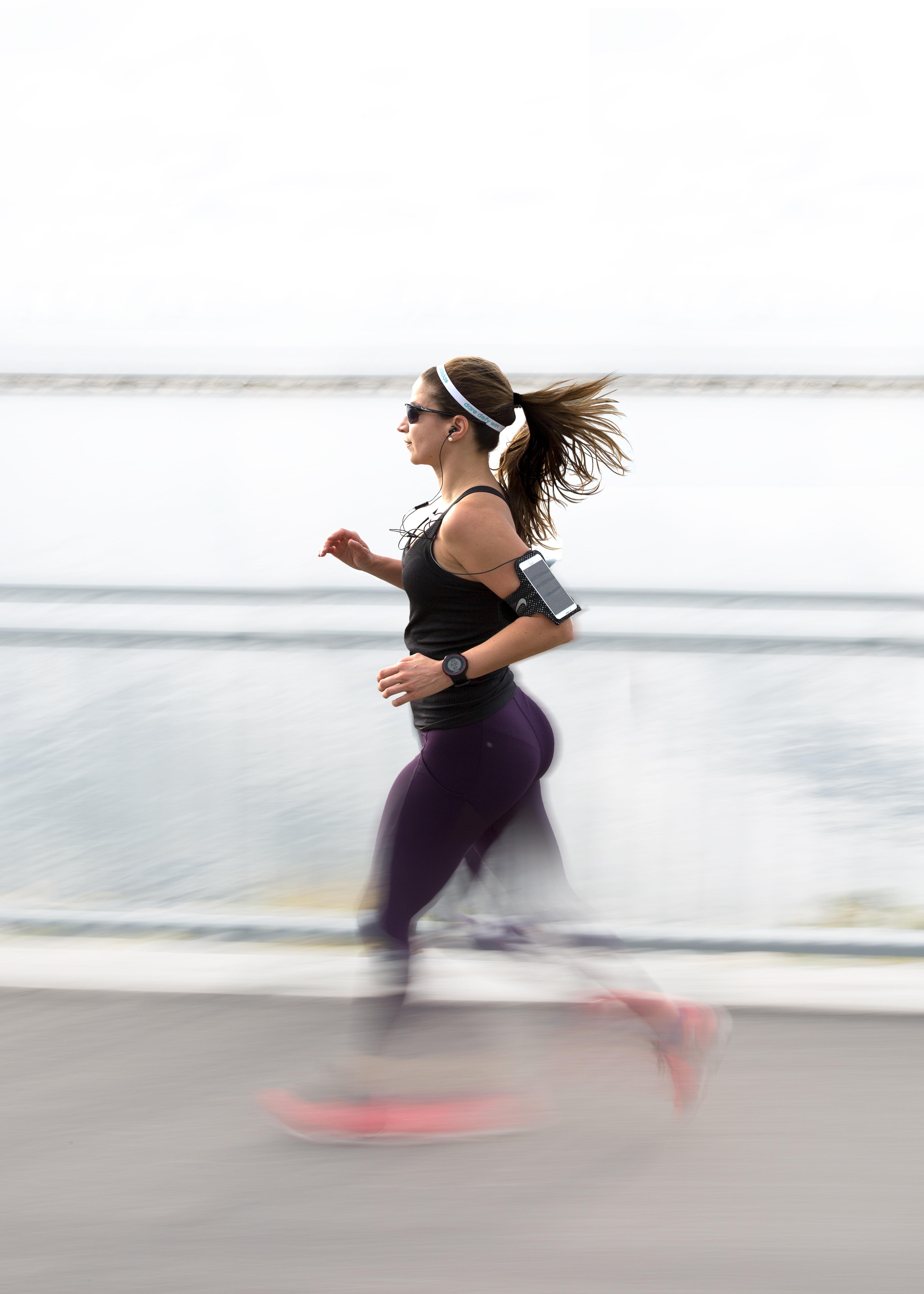 course, course à peids