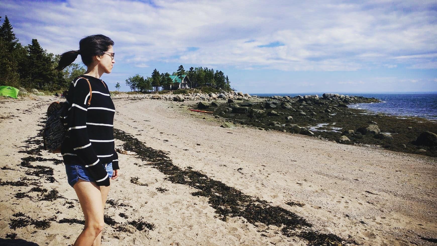 Plage baie-des-rochers
