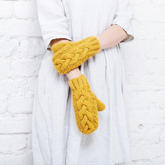 mitaines en laine
