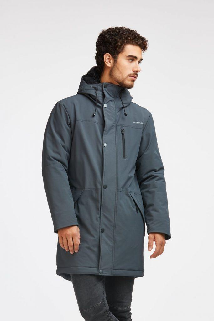 manteau, audvik, camille dg, homme, chaud, hiver, coup de coeur, capuchon