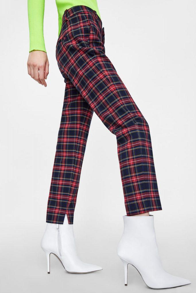 pantalons à carreaux, hiver, mode, coup de coeur, chaud, favoris, collabo, casual