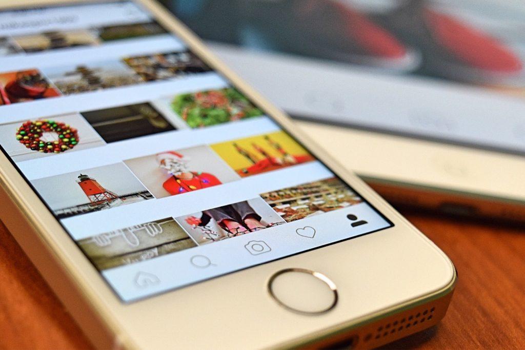 téléphone instagram