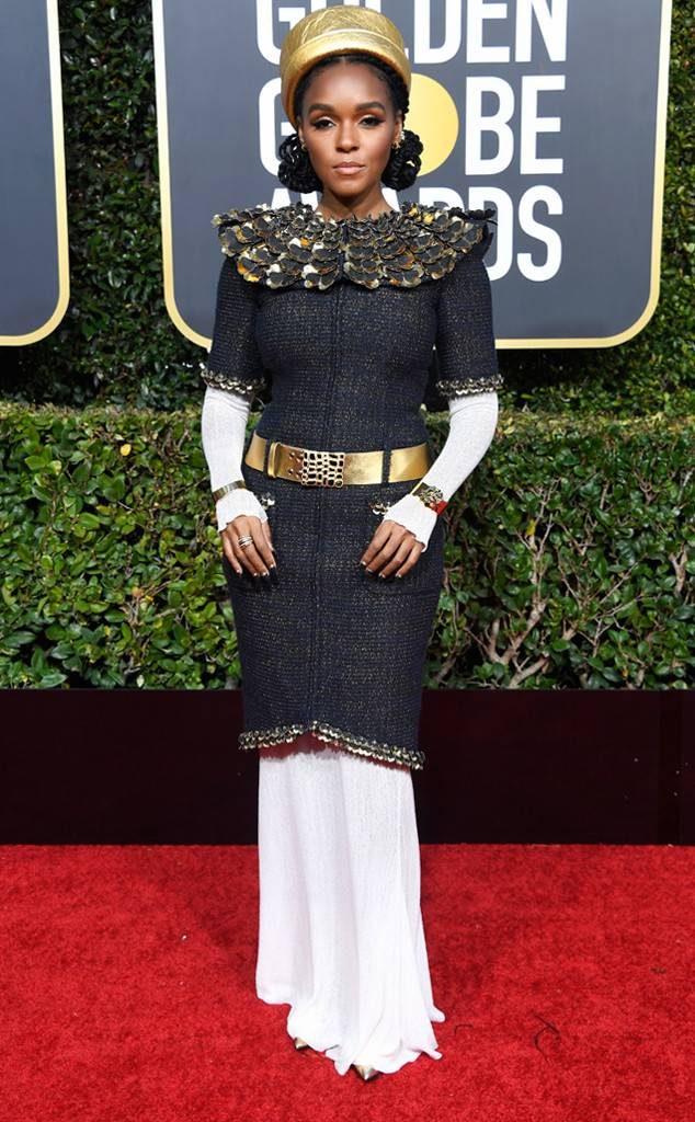 Janelle Monae Golden Globes