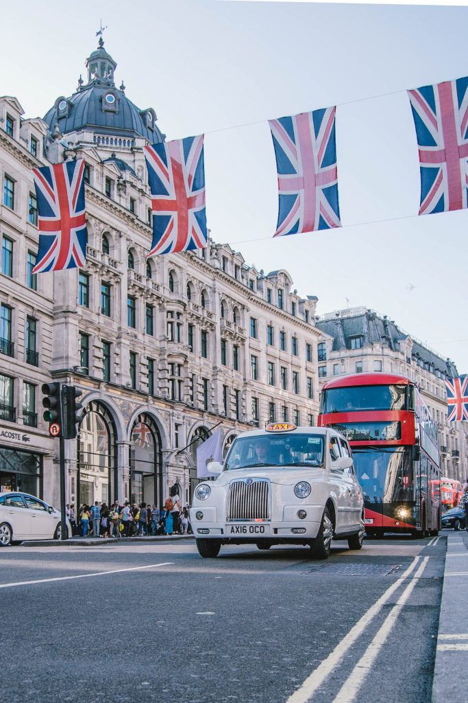 angleterre londres taxi
