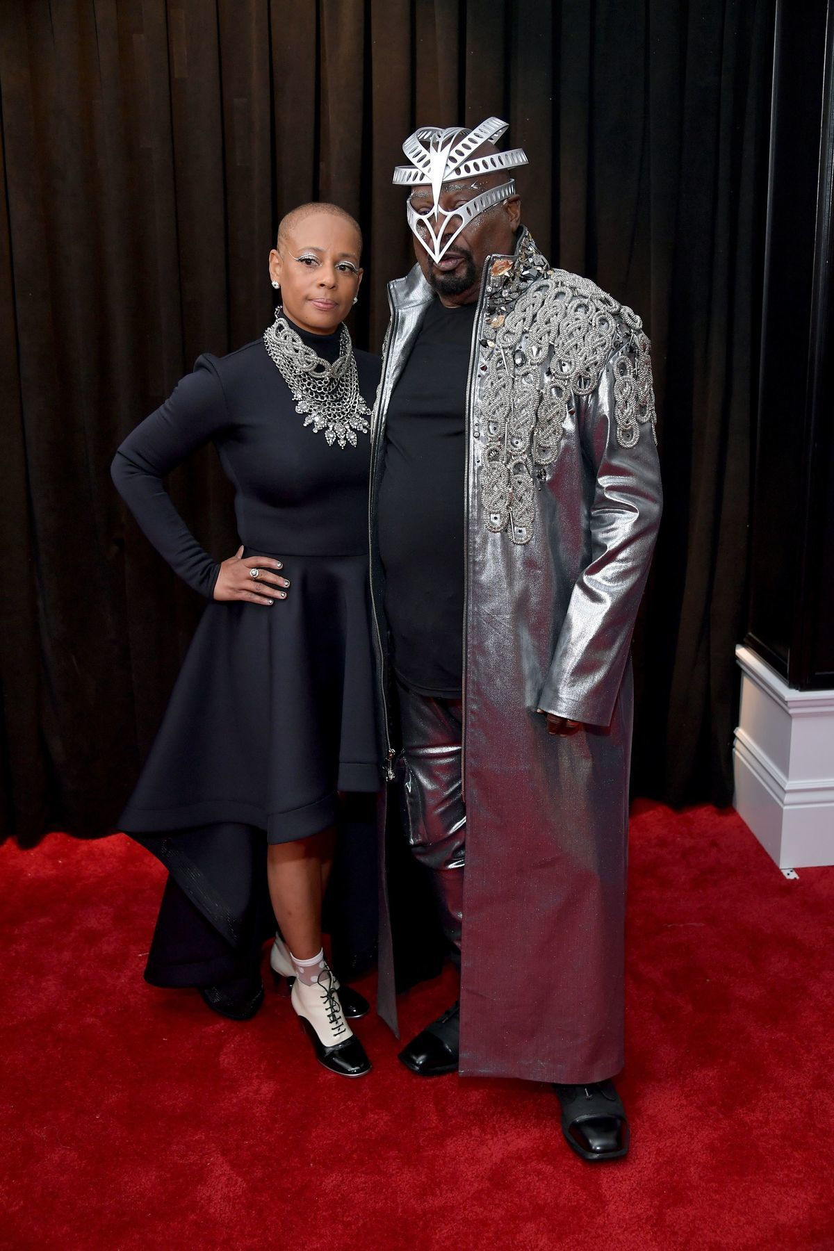 grammy 2019 Stephanie Lynn Clinton George Clinton