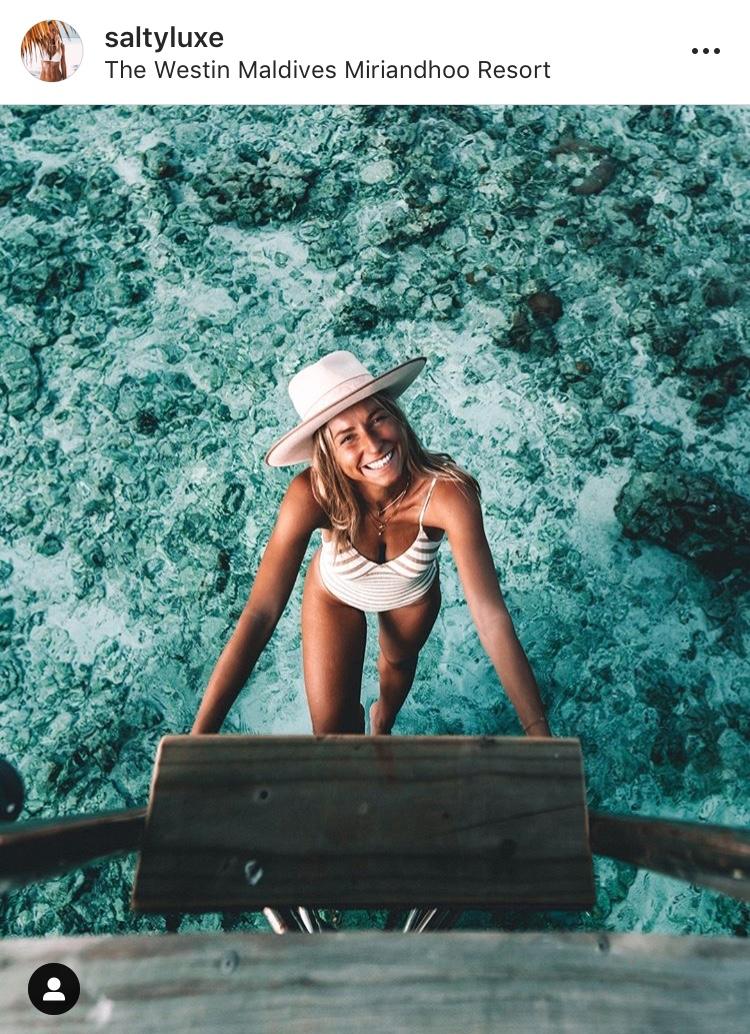 salty luxe fille eau bikini