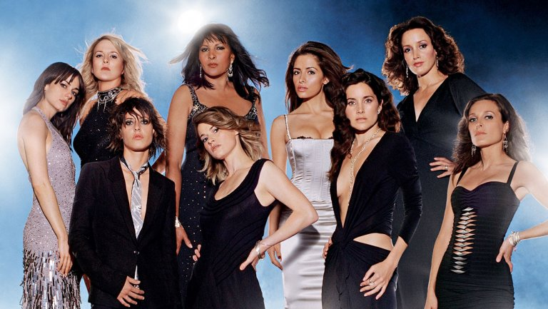 The l word blue background