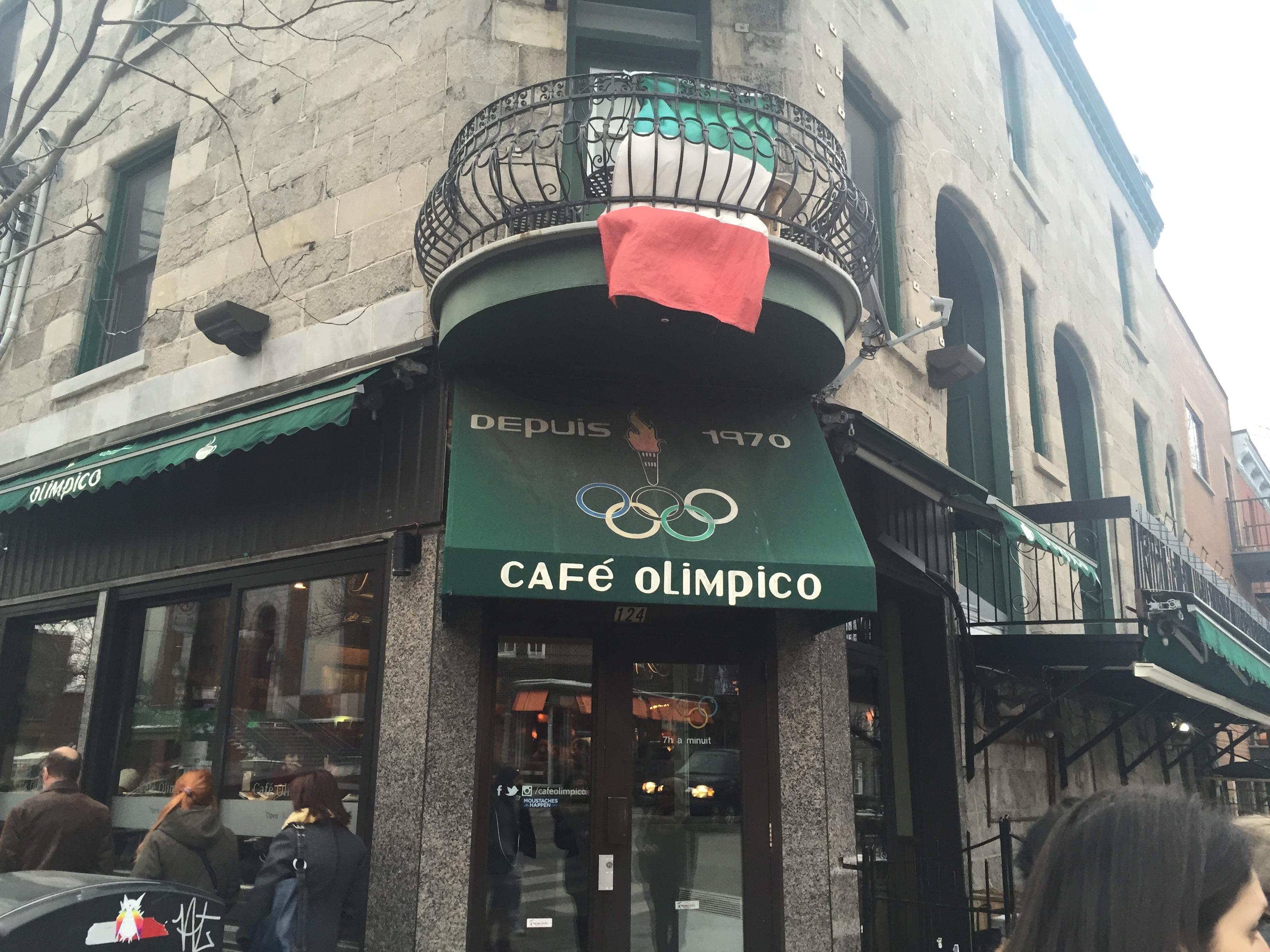 cafe olimpico