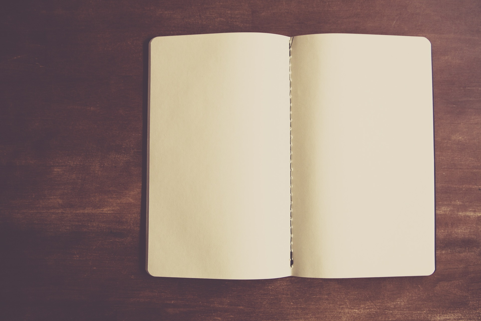 cahier de notes pages blanches