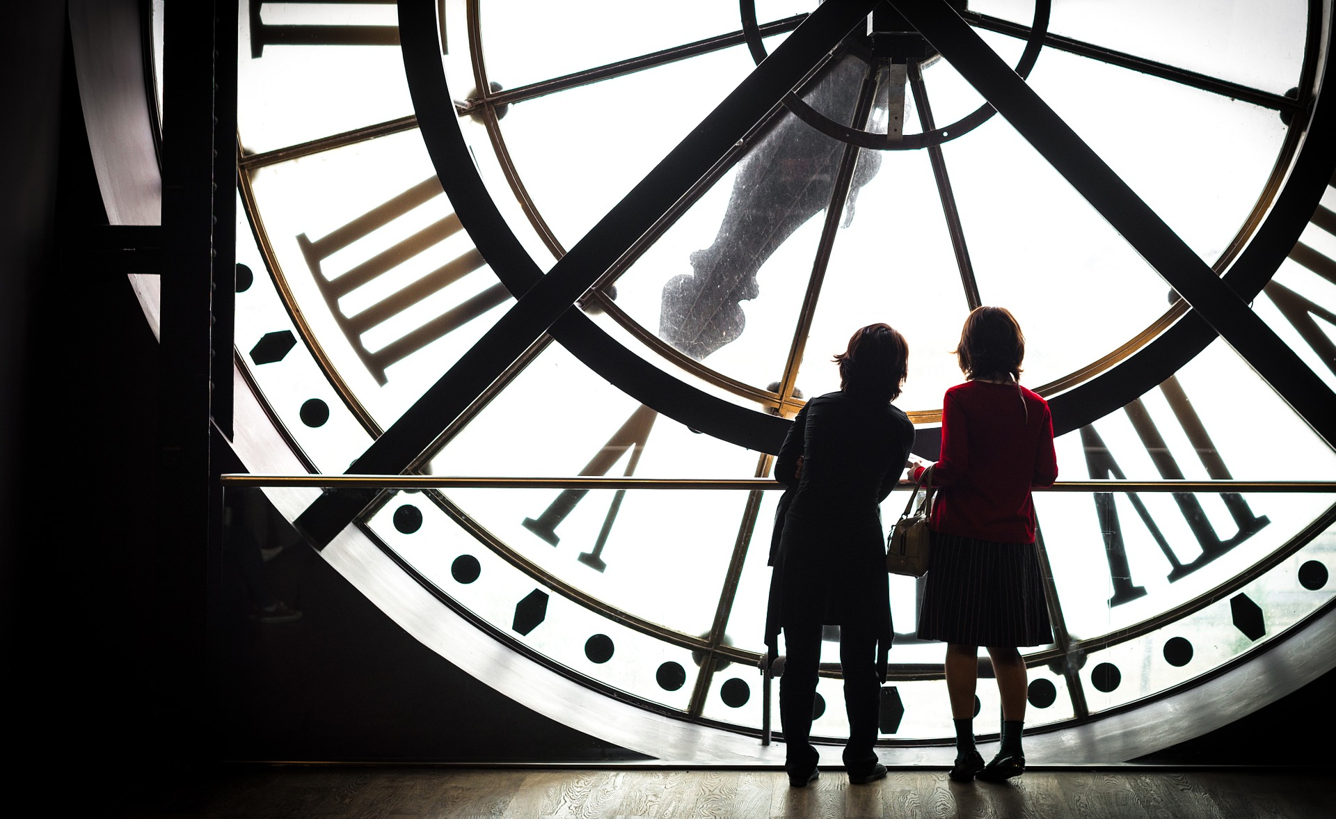 horloge géante musée d'orsay paris