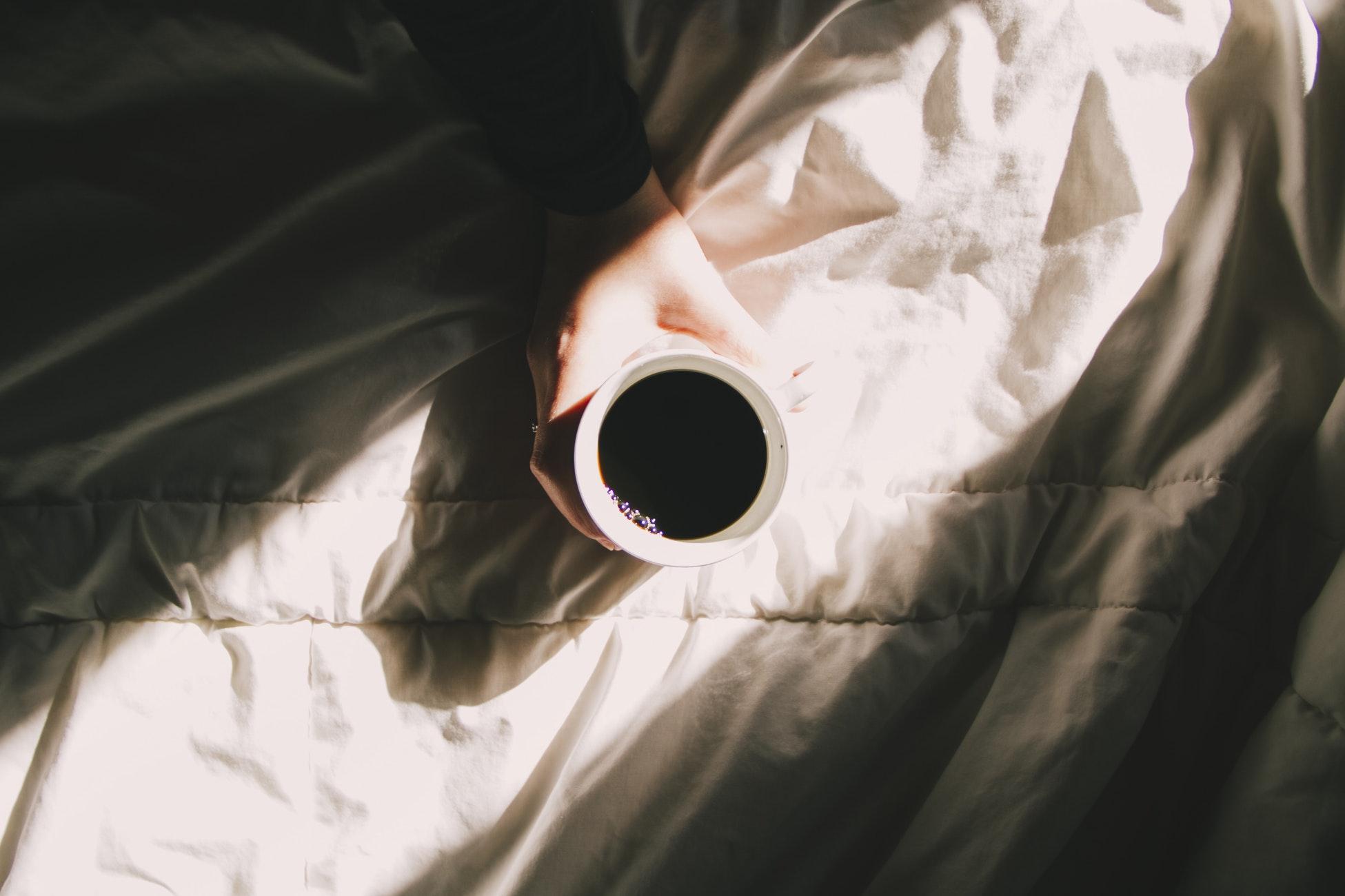 café matin lit