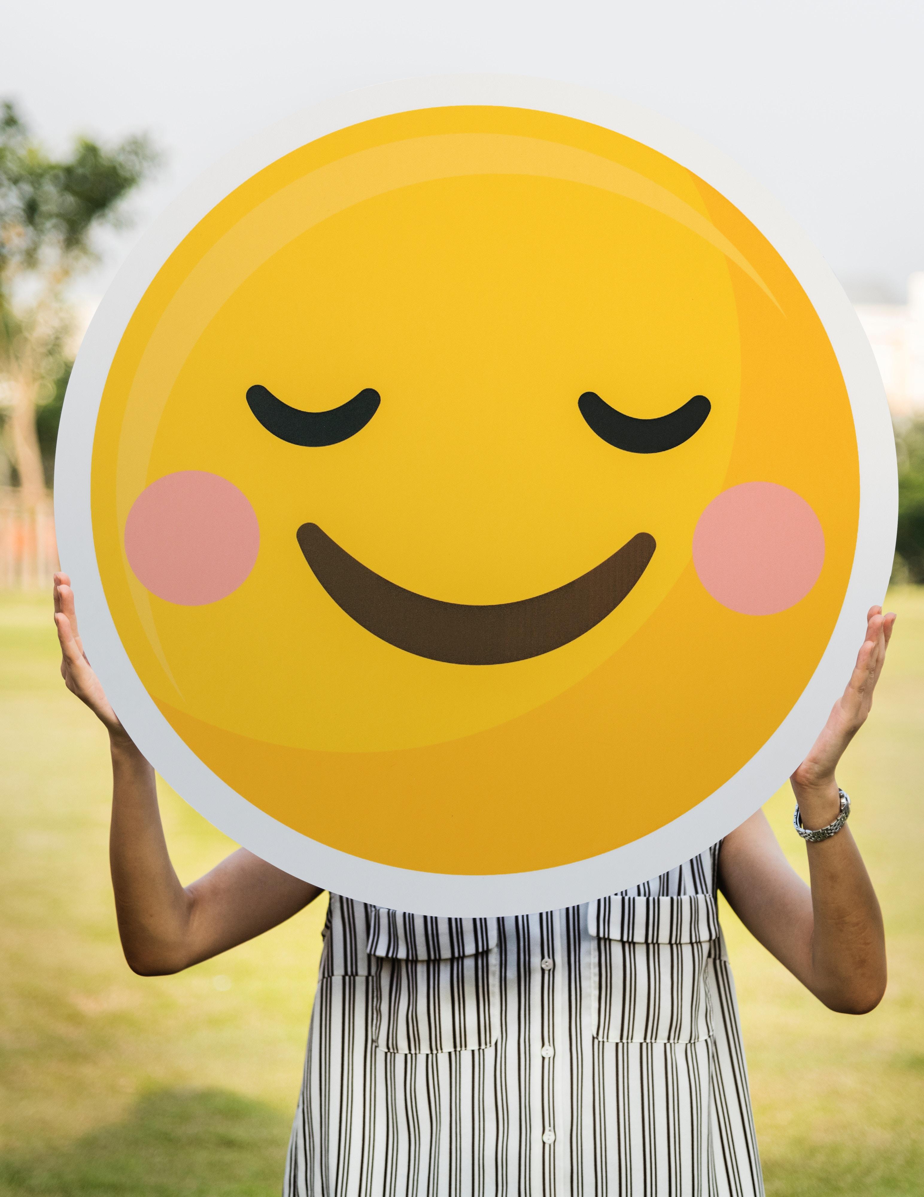 sourire jaune