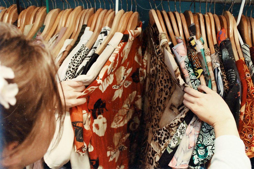 vêtements friperie
