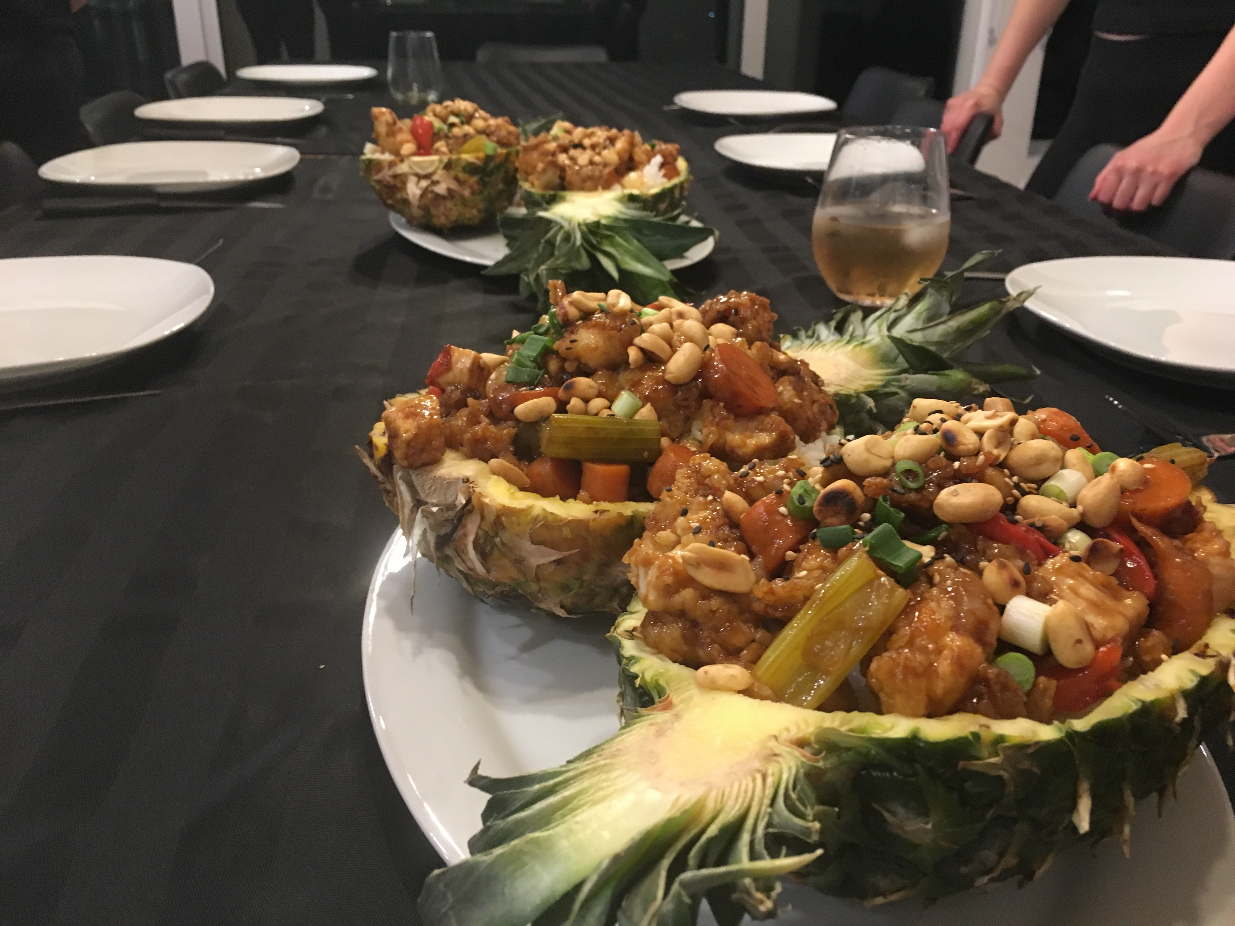 sommets charlevoix poulet general tao ananas