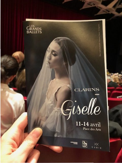 giselle grands ballets canadiens panphlet