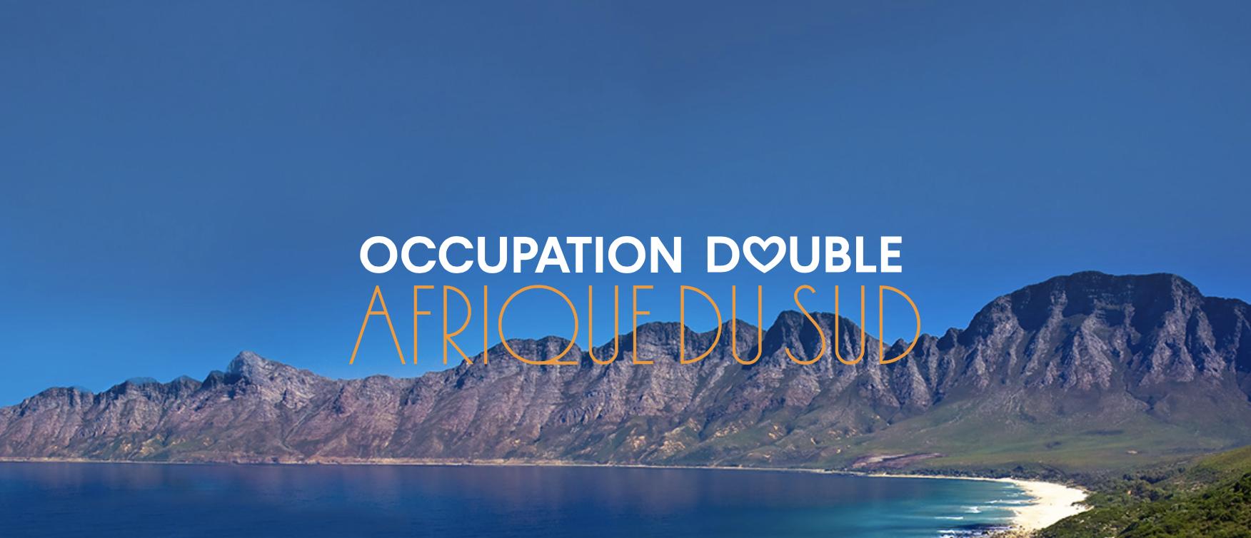 Occupation Double Afrique du Sud