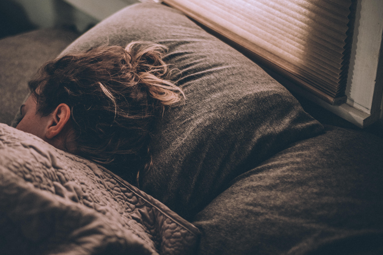 fille qui dort