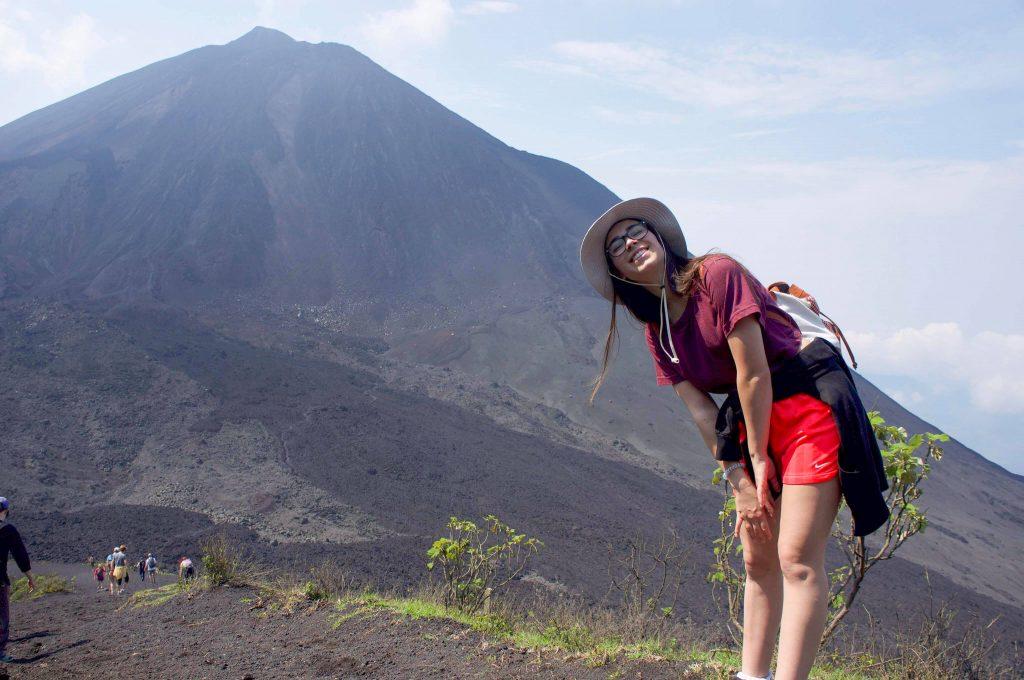 Lucie Fortin, Volcan Pacaya, Guatemala