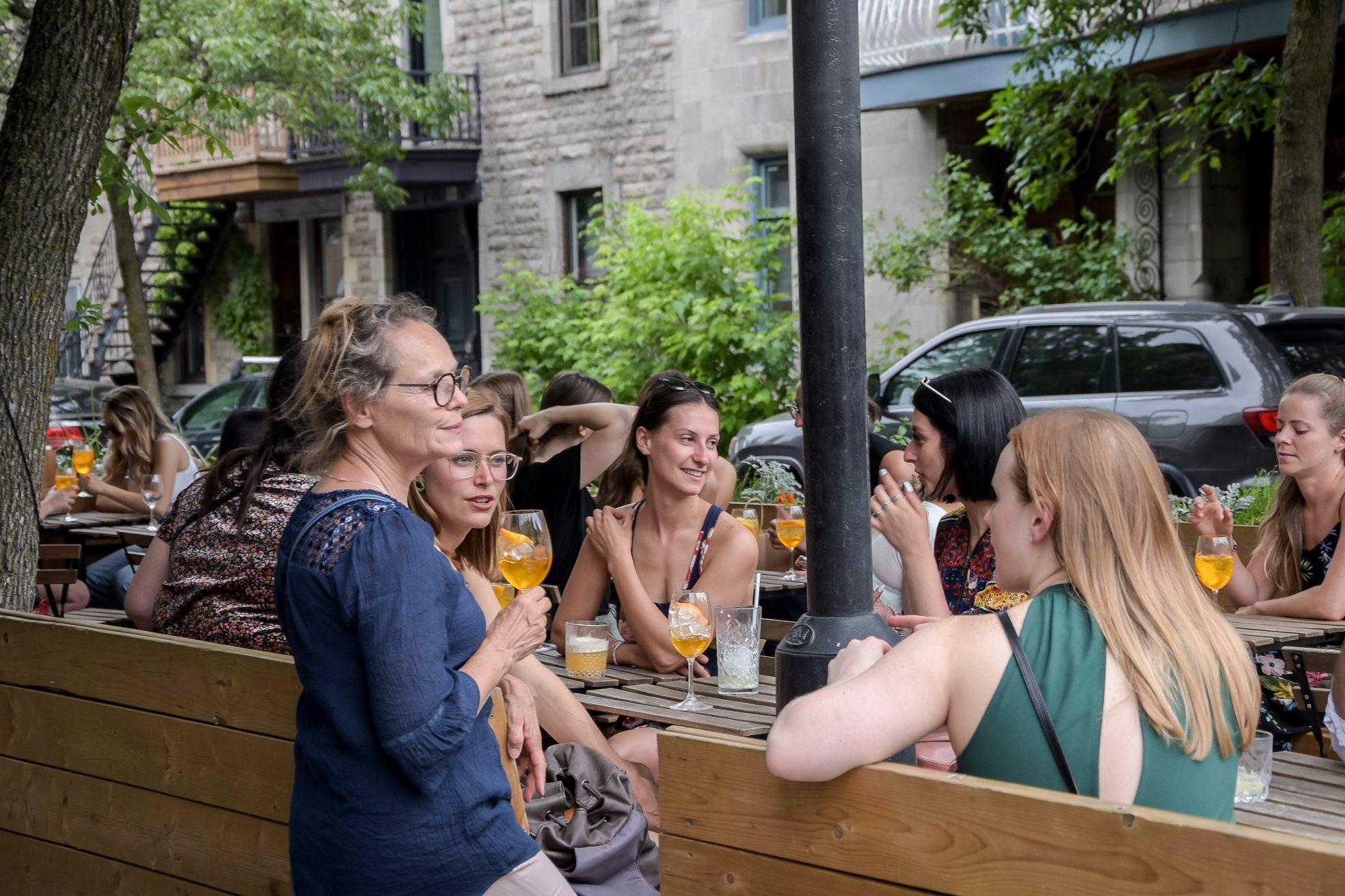 party 6 ans le cahier mtl bar terrasse