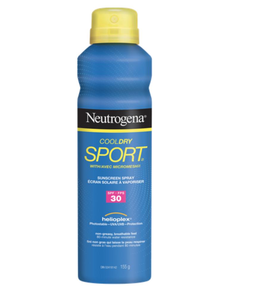 crème solaire aérosol neutrogena