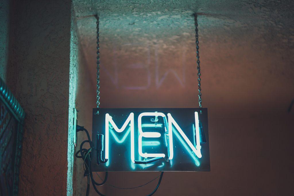 toilettes pour hommes