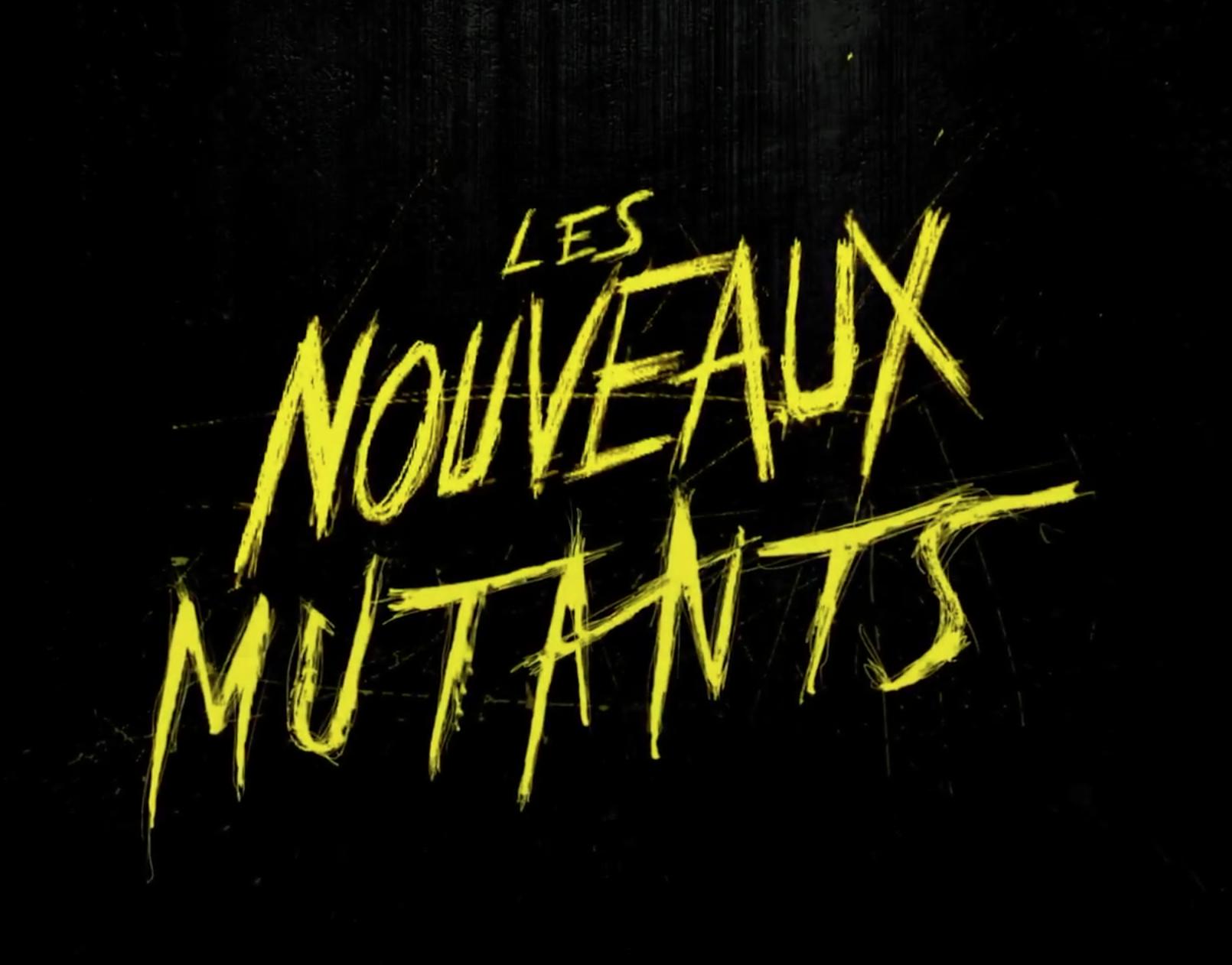 les nouveaux mutants films 2019
