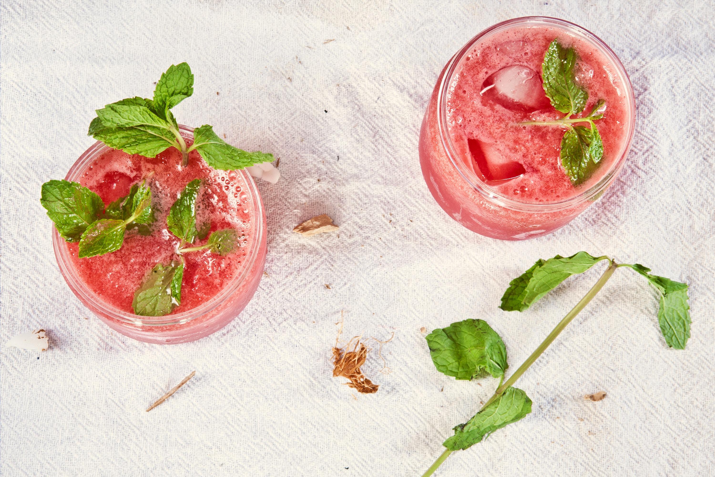 mojitos à la fraise