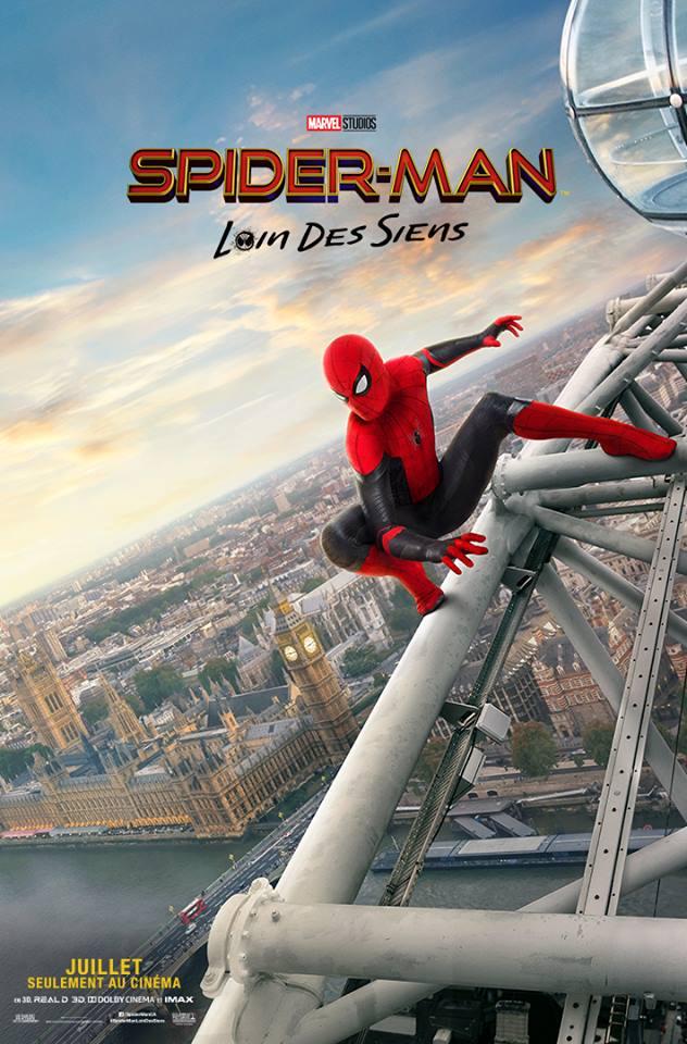 spider-man loin des siens 2019