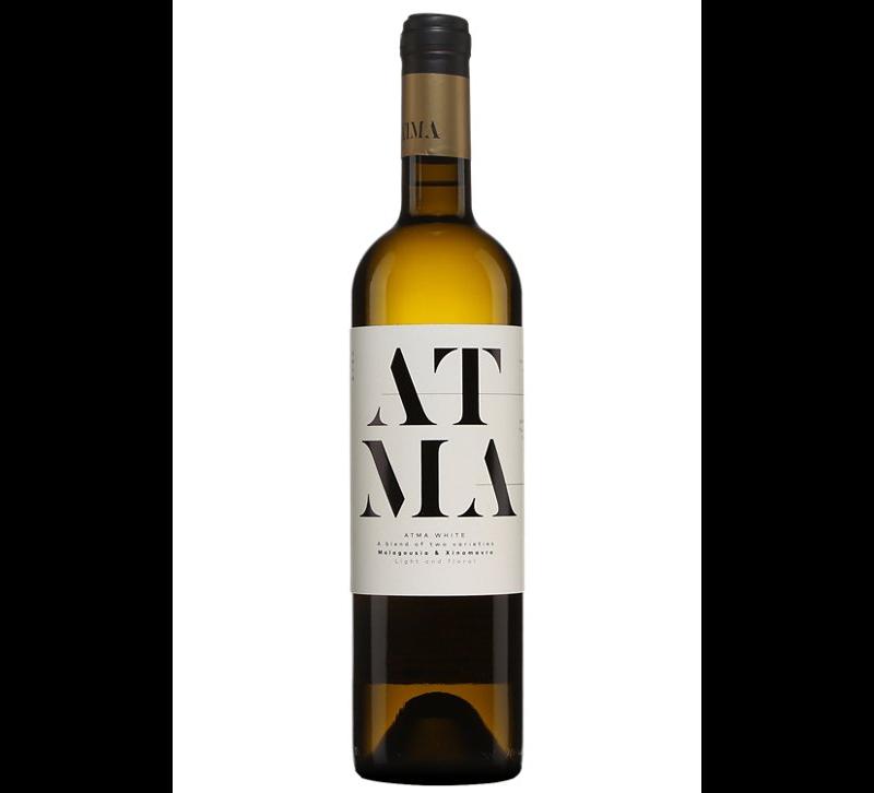 bouteille de vin blanc Domaine Thymiopoulos Atma 2018