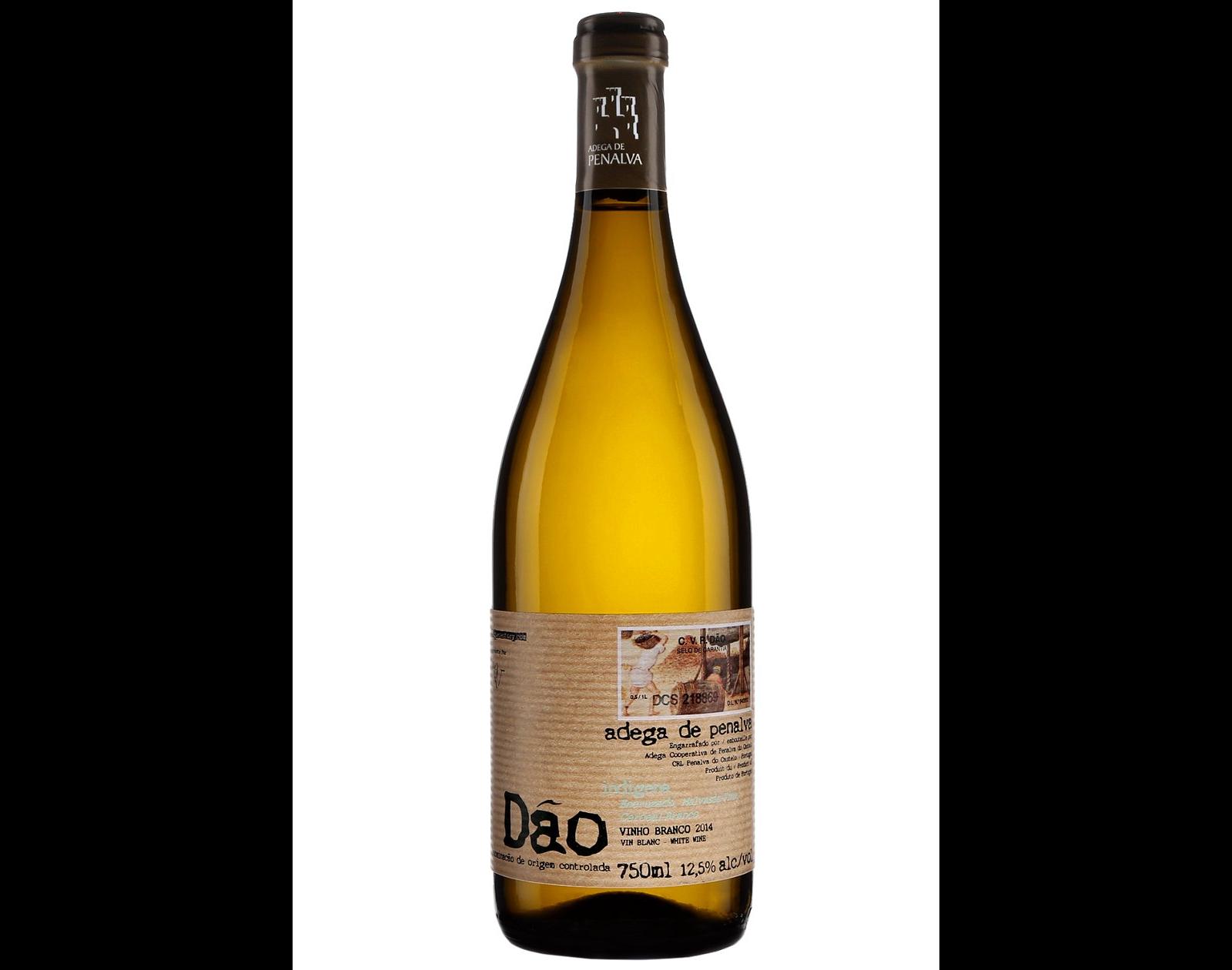 bouteille de vin blanc Adega de Penalva Dao 2017